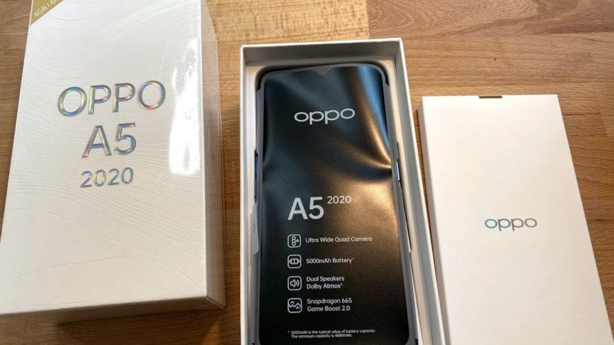 【中学生のムスコ君のスマホを楽天モバイルのOPPO A5 2020に替えたので実機レビュー】